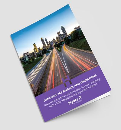 Dynamics 365 Finance and Operations - Brochure
