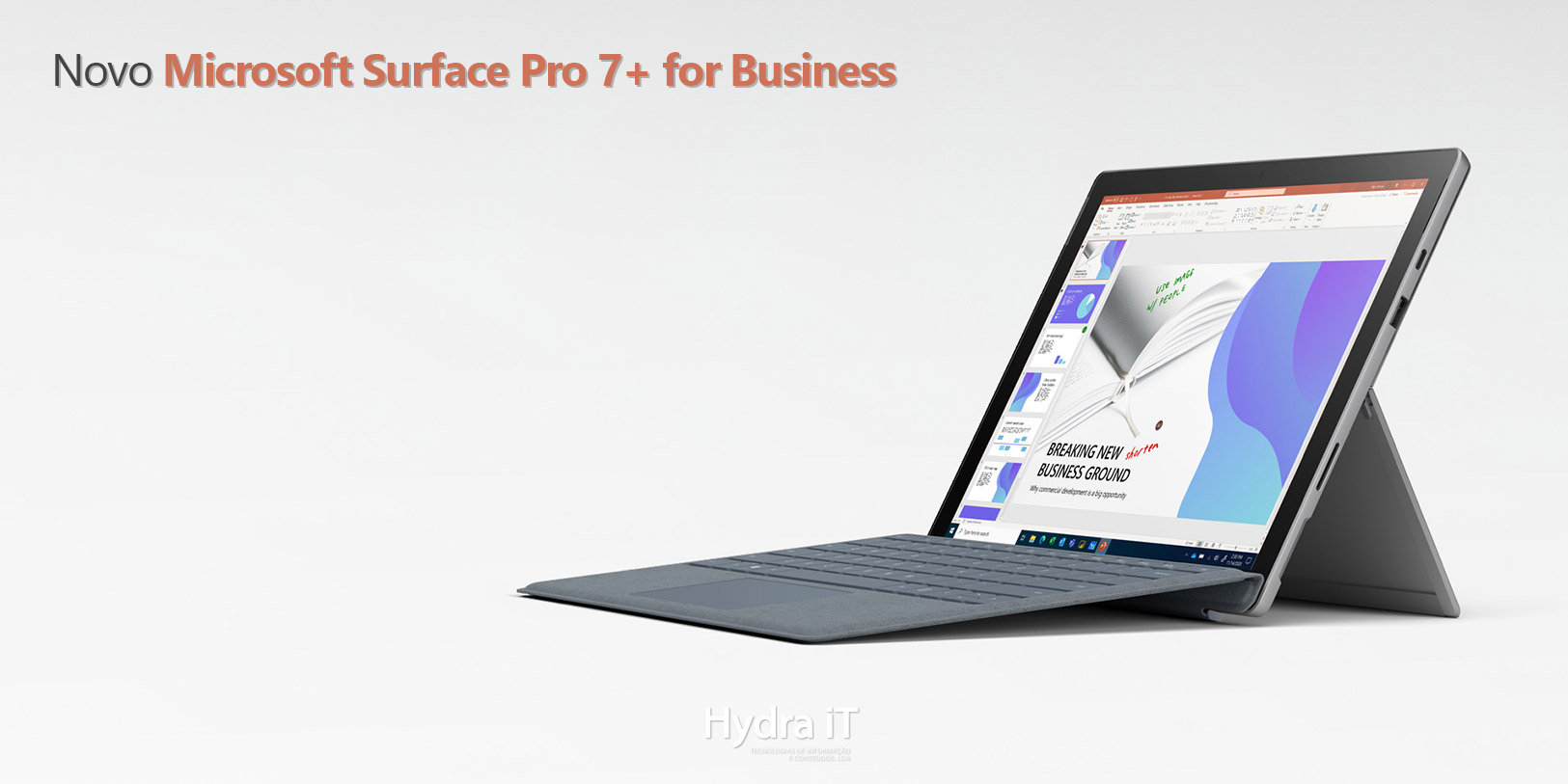 Novo Microsoft Surface Pro 7+ for Business 1